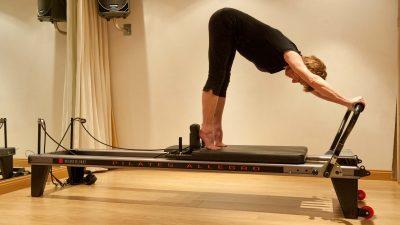 Pilates Reformer machine